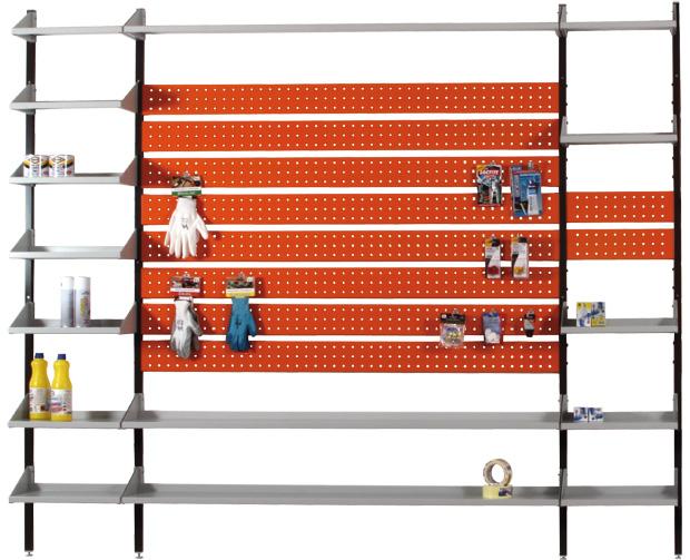 Pannelli appendi utensili pannelli decorativi plexiglass - Portautensili da parete ...